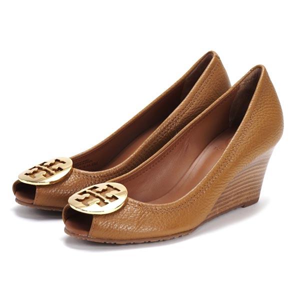 0f71cd7516e227 Tory Burch TORY BURCH shoes 50008660 BR SALLY2 TUMBLED LEATHER ROYAL TAN (GOLD  METAL LOGO)