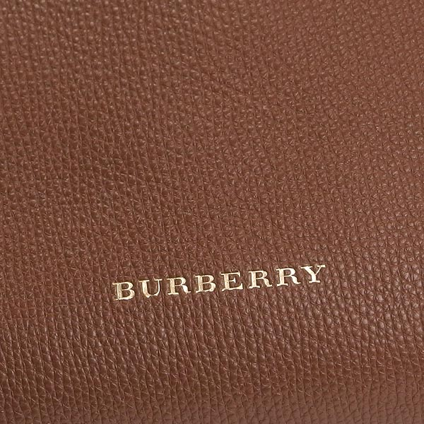 3a1e44a85af3 Burberry BURBERRY shoulder bag LITTLE CRUSH HOUSE CHECK DERBY LEATHER TAN BR