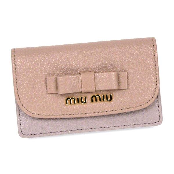 meet 24691 23f30 Miu Miu MIUMIU card 5MC122 PORTAFOGLIO ORCHIDEA+MUGHETTO BE / PK
