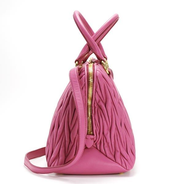 La migliore vendita del 2019 a basso prezzo aspetto estetico Miu Miu MIUMIU handbags 5BB097 BORSA FUXIA D.PK