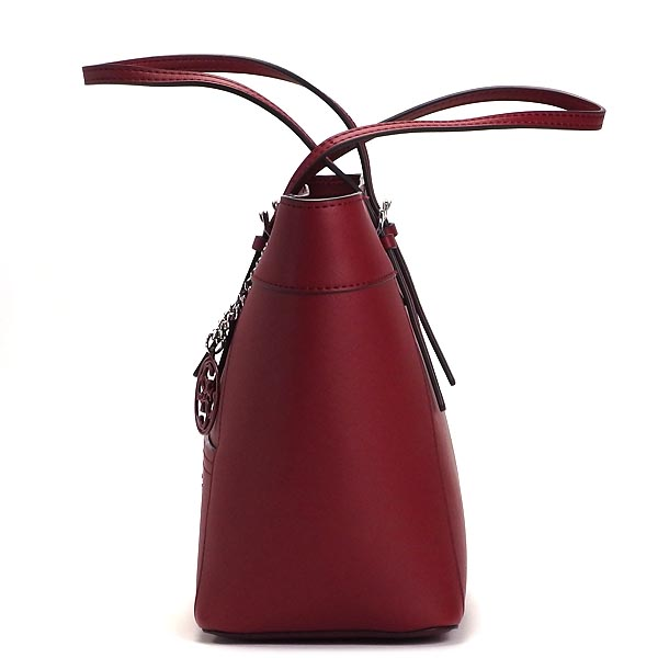 be2d17ea0e14 Guess GUESS tote bag PC453522 DELANEY SMALL CLASSIC TOTE CLARET CHERRY