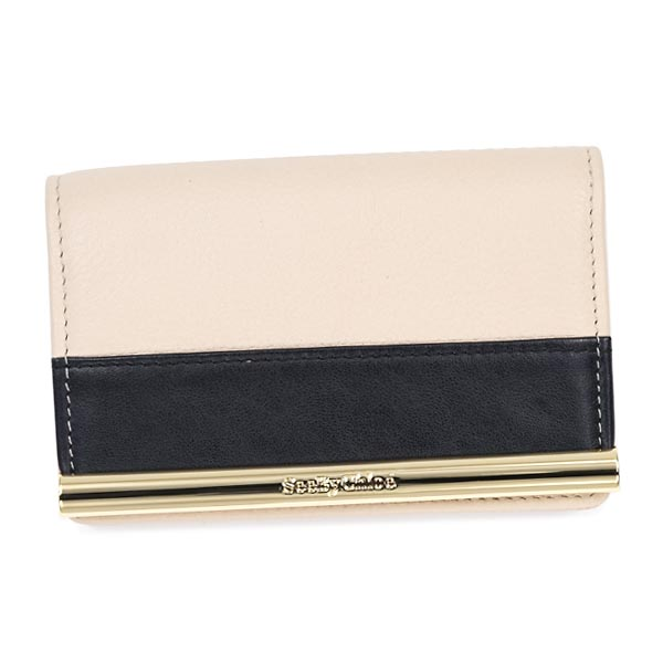 see by chloe see by chloe card 9p7652 business card holder nude be - Chloe Card Holder