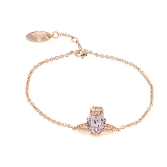 ヴィヴィアンウエストウッド Vivienne Westwood ブレスレット ARIELLA ピンクゴールド 専用BOX 紙袋付き 61020027G レディース【送料無料】