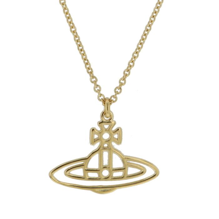 ヴィヴィアンウエストウッド Vivienne Westwood ネックレス THINLINES SFO ゴールド 専用BOX 紙袋付き 63020029R レディース【送料無料】