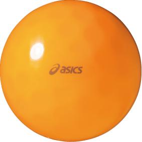 アシックス 期間限定の激安セール グラウンド ゴルフ クリアボール 無料 GGG325 オレンジ 20 ディンプルSH