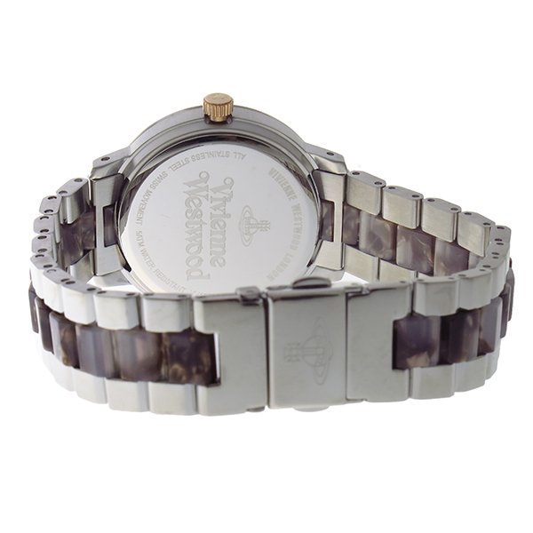 ヴィヴィアン ウエストウッド マーブルアーチ レディース 腕時計 VV165BRSL ブラウン【】