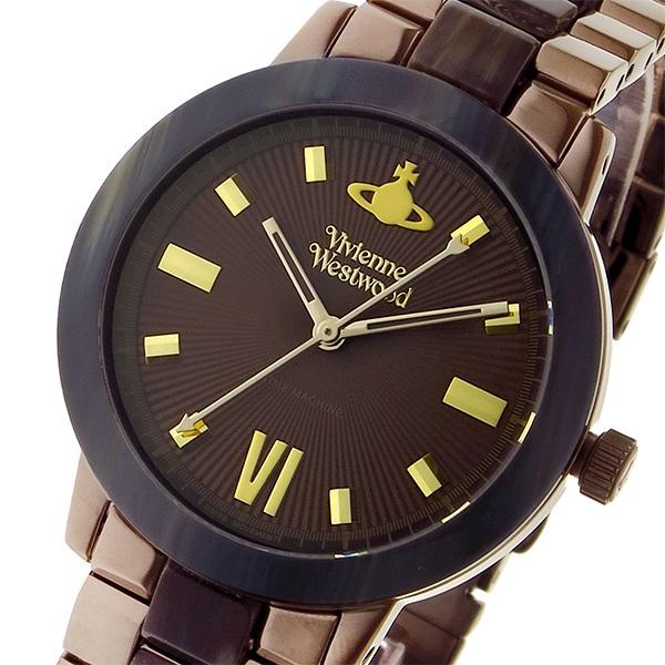 ヴィヴィアン ウエストウッド マーブルアーチ レディース 腕時計 VV165BRBR ブラウン【送料無料】