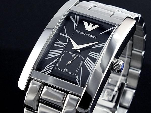 online store 6553e fd691 エンポリオ アルマーニ EMPORIO ARMANI 腕時計 時計 AR0156【送料無料】|リコメン堂ファッション館