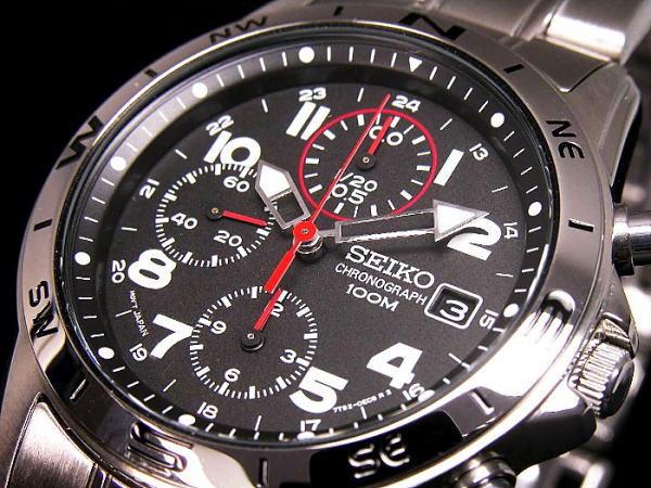 セイコー SEIKO 腕時計 時計 クロノグラフ メンズ SND375P1【送料無料】