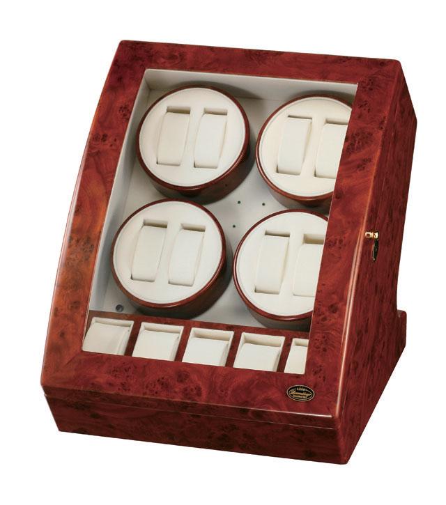 LUHW 8本巻き ワインディングマシーン LED搭載 SE-LUHW20008RD【送料無料】
