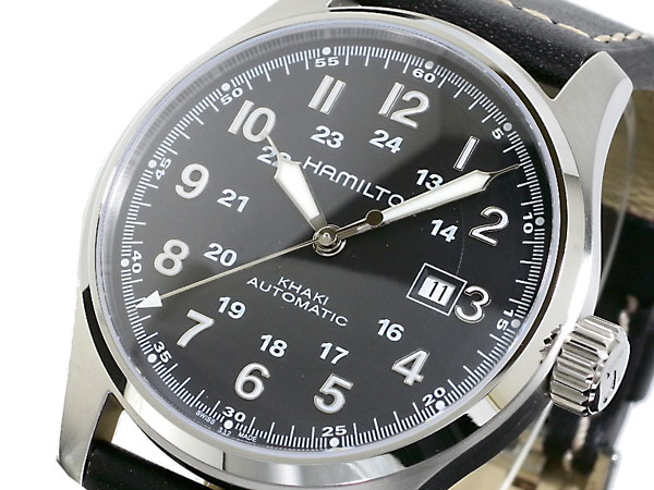 HAMILTON ハミルトン カーキ オフィサー オート 腕時計 時計 H70625533【送料無料】
