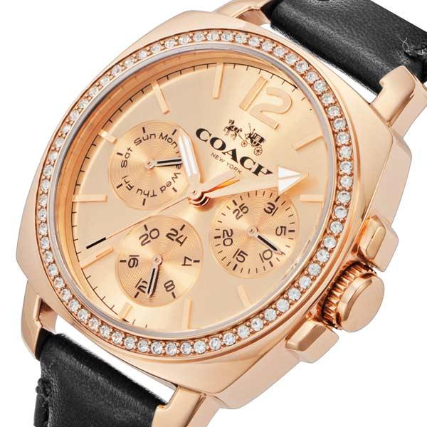 コーチ COACH ボーイフレンド クオーツ レディース 腕時計 CO14502125 ローズ【送料無料】