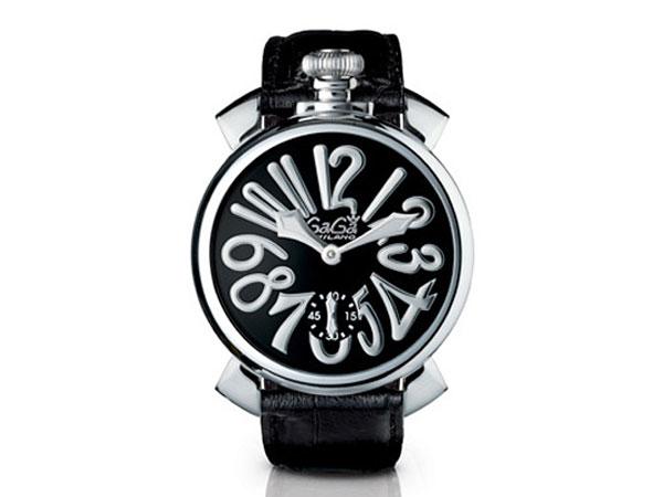 ガガミラノ GAGA MILANO マヌアーレ 48mm 腕時計 スイス製 5010.4S メンズ【送料無料】