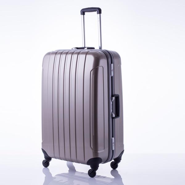 マンハッタン エクスプレス フリーク スーツケース 53-20039 ゴールド 代引不可【送料無料】