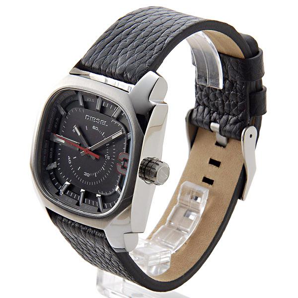 柴油DIESEL石英人手錶DZ1652黑色/黑色