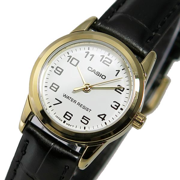 カシオ CASIO クオーツ レディース 腕時計 時計 LTP-V001GL-7B ホワイト【楽ギフ_包装】
