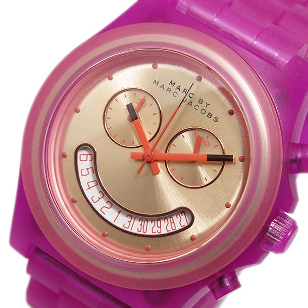 マークバイ マークジェイコブス クオーツ クロノ 腕時計 MBM4575 ピンクゴールド【送料無料】
