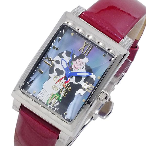 ディズニーウオッチ Disney Watch クルエラ レディース 腕時計 MK1208A【送料無料】