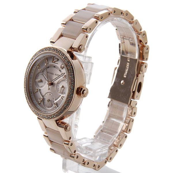 マイケルコース パーカー クオーツ レディース 腕時計 MK6110 ローズゴールド【送料無料】