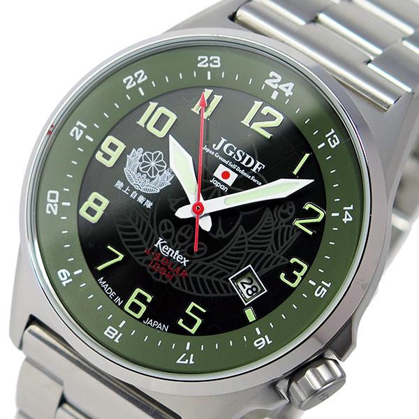 ケンテックス KENTEX JSDFソーラースタンダード メンズ 腕時計 S715M-04【送料無料】