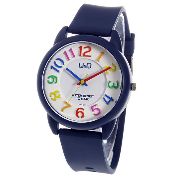シチズン キューアンドキュー クオーツ ユニセックス 腕時計 時計 VR68-002 ホワイト【楽ギフ_包装】