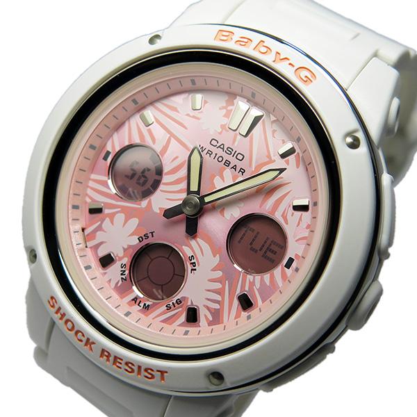 カシオ ベビージー Baby-G クオーツ レディース 腕時計 BGA-150F-7A ピンク