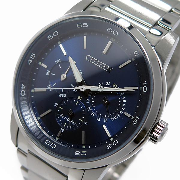 シチズン CITIZEN クオーツ メンズ 腕時計 BU2010-57L ネイビー【送料無料】