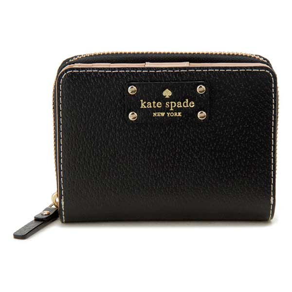 Kate spade Kate Spade WELLESLEY CARA two fold short wallet purse wallet-popular  brands. Kate spade (Kate spade) is born in Kansas. 001ee69b77e