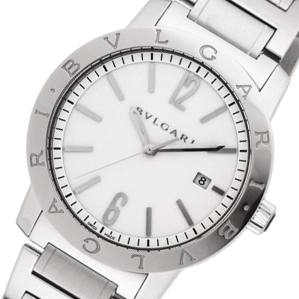 ブルガリ BVLGARI 自動巻き メンズ 腕時計 BB41WSSD ホワイト【送料無料】