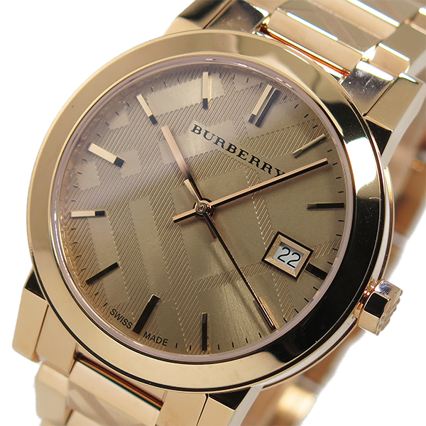 aacdc5ace06b Burberry BURBERRY The City quartz mens watch. Old Burberry of Britain known  in the Burberry check. Experienced in the Donna Karan and Gucci