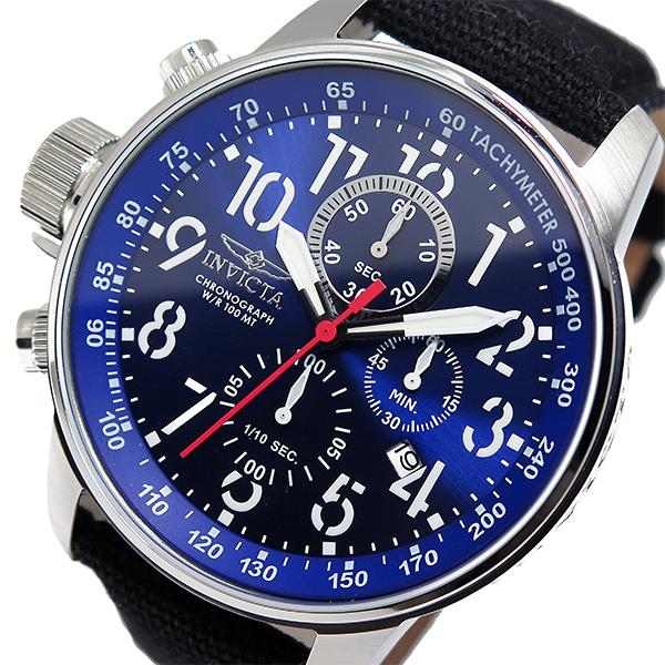 インヴィクタ INVICTA クロノ クオーツ メンズ 腕時計 1513 ネイビー【送料無料】