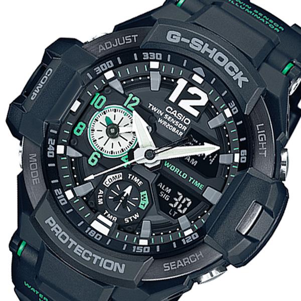 カシオ CASIO G-SHOCK デジアナ メンズ 腕時計 GA-1100-1A3JF ブラック 国内正規【送料無料】