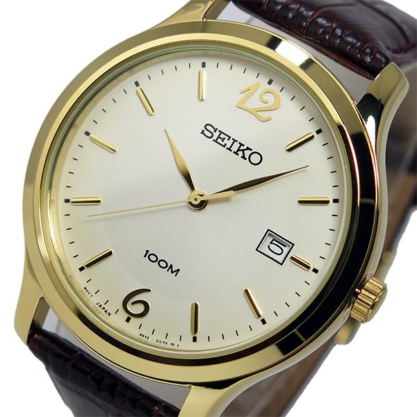 セイコー SEIKO クオーツ メンズ 腕時計 SUR150P1 シルバー【送料無料】