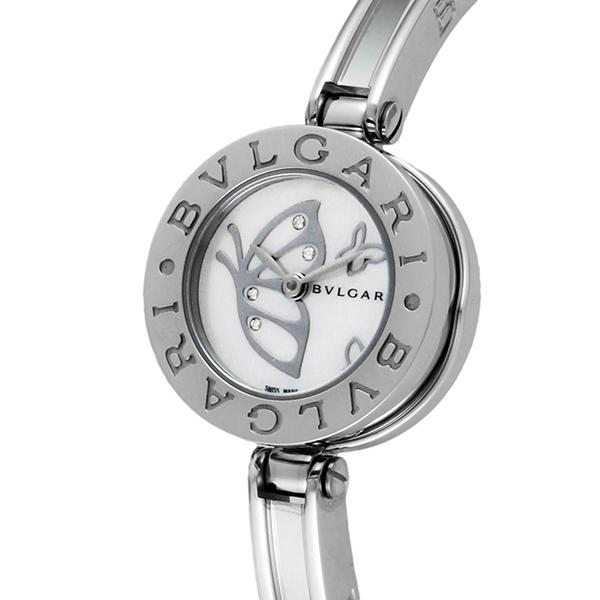 ブルガリ BVLGARI クオーツ レディース 腕時計 BZ22BDSS.S ホワイトパール【送料無料】