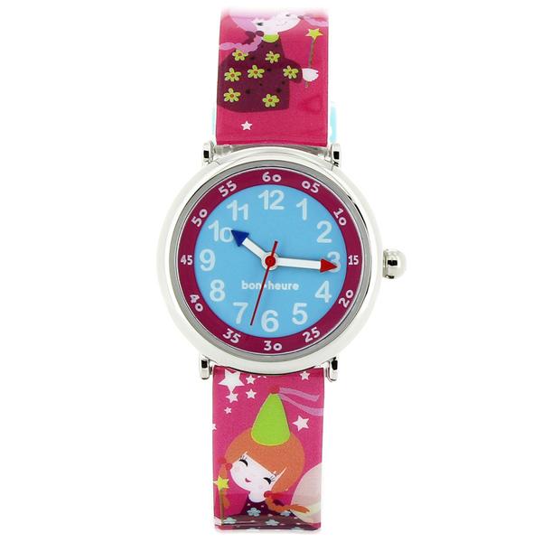 ベビーウォッチ babywatch コフレボヌール 妖精 クオーツ 腕時計 時計 CB008 ブルー【楽ギフ_包装】