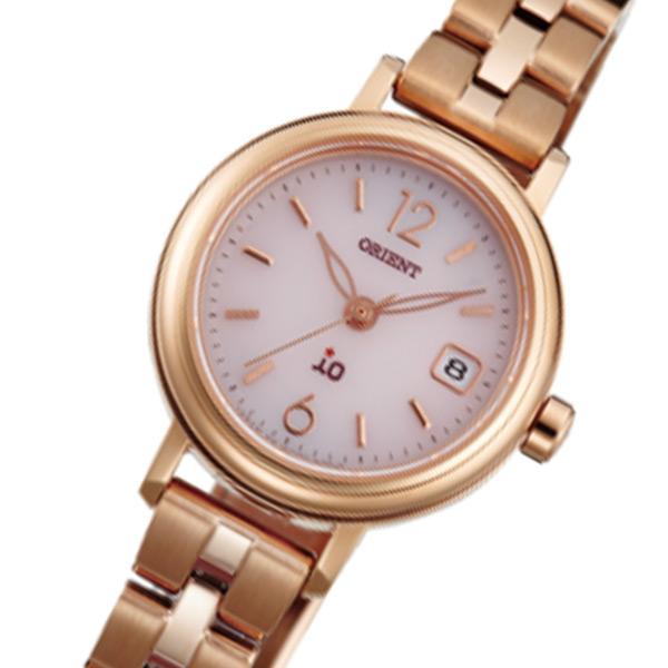 オリエント ORIENT イオ iO ソーラー レディース 腕時計 WI0011WG ピンク 国内正規【送料無料】