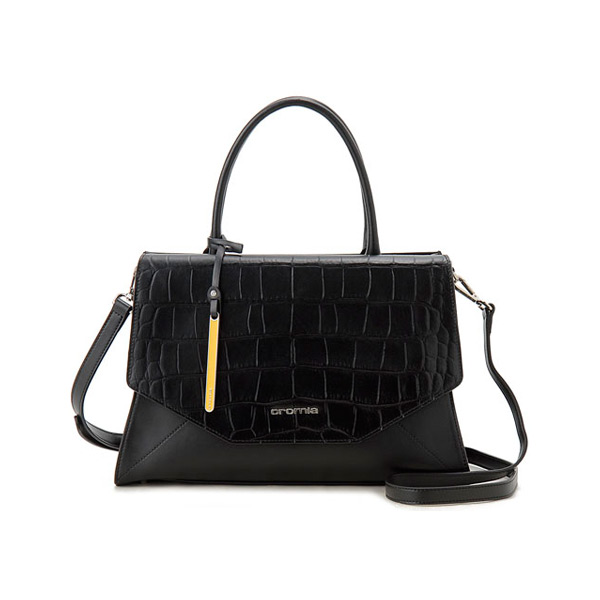new arrival cdb31 d00a8 Chromia Cromia ladies handbag CRM1402627SP-NE black