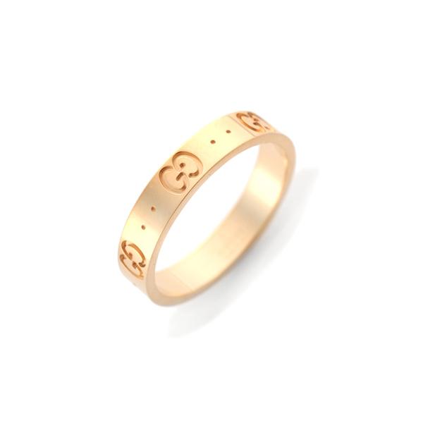 グッチ GUCCI レディース リング 指輪 JP17号 073230-09850/8000/17 ゴールド【送料無料】