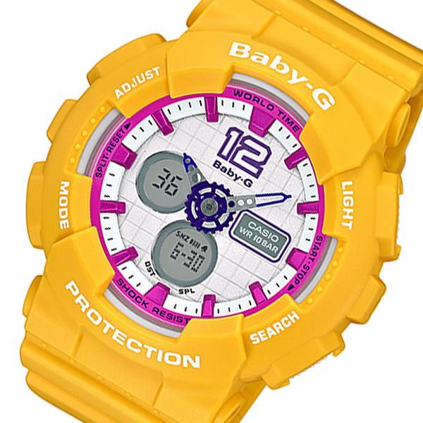カシオ CASIO ベビーG BABY-G レディース 腕時計 BA-120-9B オレンジ