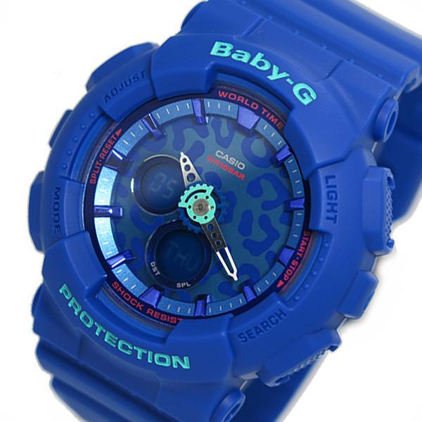 カシオ CASIO ベビーG レディース 腕時計 BA-120LP-2A ブルー