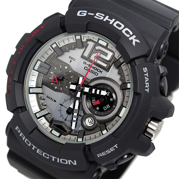 送料無料 ラッピング無料 カシオ 信託 Gショック クオーツ ブラック メンズ 腕時計 最安値に挑戦 GAC-110-1A