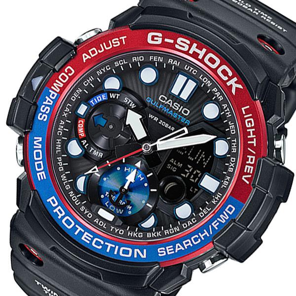 カシオ Gショック ガルフマスター メンズ 腕時計 GN-1000-1AJF ブラック 国内正規【送料無料】