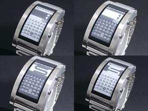 正規品! Phosphor フォスファー E Ink 電子ペーパー 腕時計 DC03【送料無料】, 占冠村 a81997fd