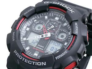カシオ Gショック 腕時計 アナデジ GA100-1A4