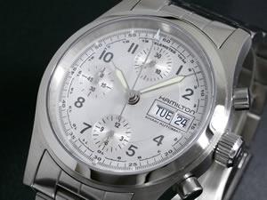 ハミルトン HAMILTON 腕時計 時計 カーキフィールド オート クロノ H71416157【送料無料】