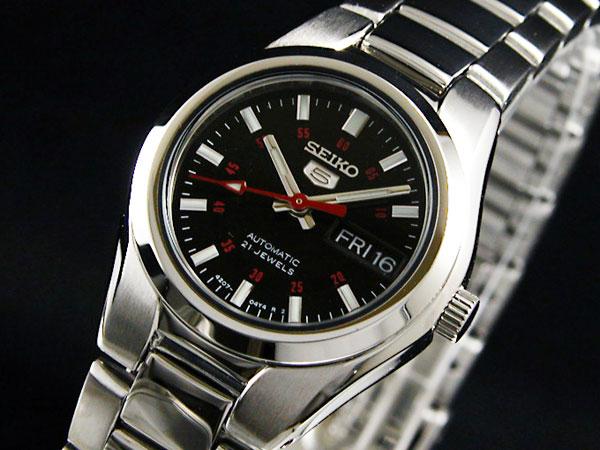 セイコー 5 SEIKO ファイブ 腕時計 時計 自動巻き レディース SYMC27K1
