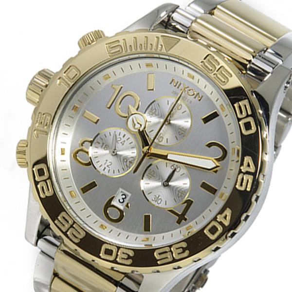 ニクソン NIXON クロノ クオーツ レディース 腕時計 A037-1431 シルバー【送料無料】