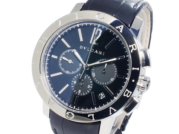 ブルガリ BVLGARI 自動巻き クロノグラフ メンズ 腕時計 BB41BSLDCH (代引き不可)【送料無料】
