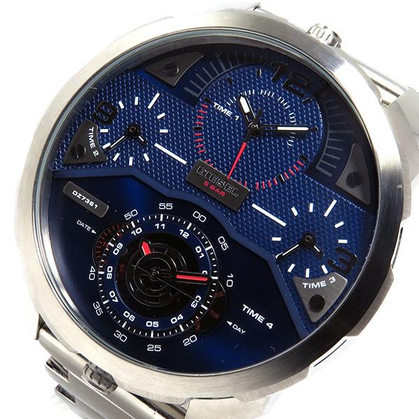 ディーゼル DIESEL クオーツ メンズ 腕時計 DZ7361 ブルー【送料無料】