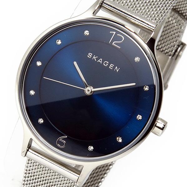 スカーゲン SKAGEN クオーツ レディース 腕時計 SKW2307 ネイビー